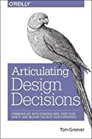 Articulating Design Decisions Front Cover