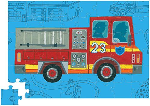 Crocodile Creek 48 pc Roll'n Play Puzzle/Fire Truck (May 2014)