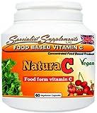 Food Form Vitamin C - 500mg (60 vege caps)