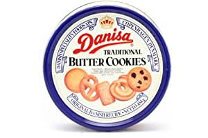 Danisa Butter Cookies in Tin, 32 Ounce