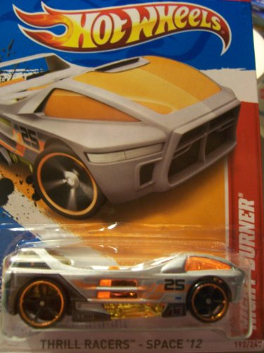 Hot Wheels 2012 Thrill Racers Space 2/5 Night Burner 192/247