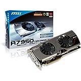 MSI AMD Radeon HD 7950 3GB GDDR5 DVI/HDMI/2xMini DisplayPort PCI-Express Video Card R7950 TWIN FROZR 3GD5/OC