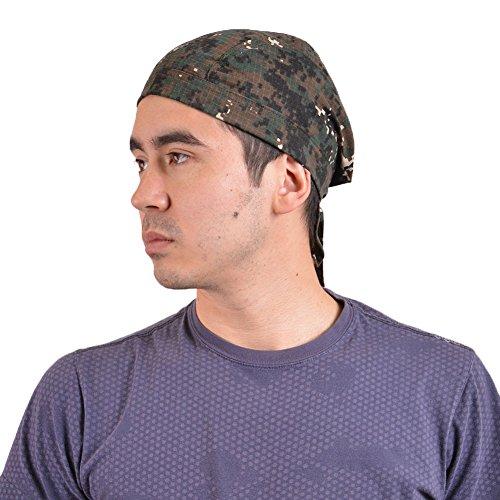 (カジュアルボックス)CasualBox キャンバスARMYコットンバンダナキャップ 2色 迷彩柄 フリーサイズ 帽子 (カーキ) [ウェア&シューズ] メンズ レディース 帽子 Charm チャーム