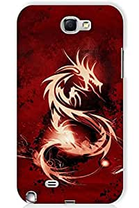 IndiaRangDe Case For Samsung Galaxy Note 2 II N7100 (Printed Back Cover)