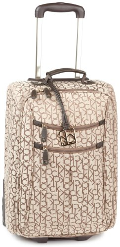 Calvin Klein Luggage Nolita 20 Inch Upright Bag, Hazel, One Size