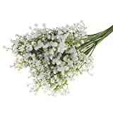 Gypsophila Wedding Decoration Sweet Flower Silk Artificial Baby Breath 1 Head White Colour Flowers Home Decor Gift