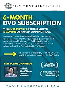 6-Month Film Movement DVD Subscription (bonus film: Long Life, Happiness and Prosperity)
