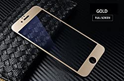 For : Apple iPhone 6 Plus / 6S Plus CASSIEY 3D Edge to Edge Fiber Full Cover Body Tempered Glass Screen Protector Guard for Apple iPhone 6 Plus / 6S Plus -Gold