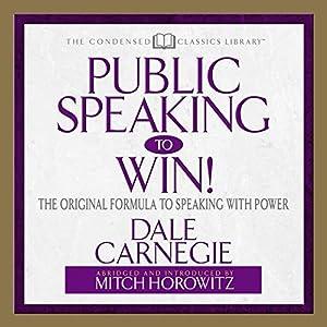 Public Speaking to Win Audiobook