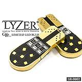 [LYZER] マツダ アクセラ BK系・BL系 ポジション/ライセンス ランプ LEDバルブ GBシリーズ T10/T16 両面発光 無極性12led 2個セット