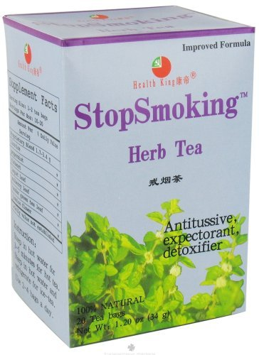 Health King Medicinals – Health King Tea, Stop Smoking 20 Bag