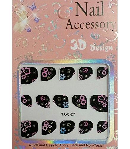 Nail art - Stickers pour ongles - Modèle C-27