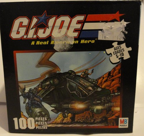 G. I. Joe A Real American Hero 100 Piece Puzzle - See Picture - 1
