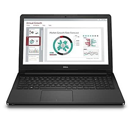 Dell vostro 15 3558 15.6-inch Laptop (Core i3/4GB/1TB HDD/15.6 LED Screen/ UBUNTU) BLACK