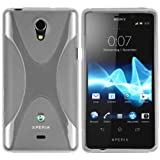 Mumbi X-TPU Protective Case for Sony Xperia T Transparent White
