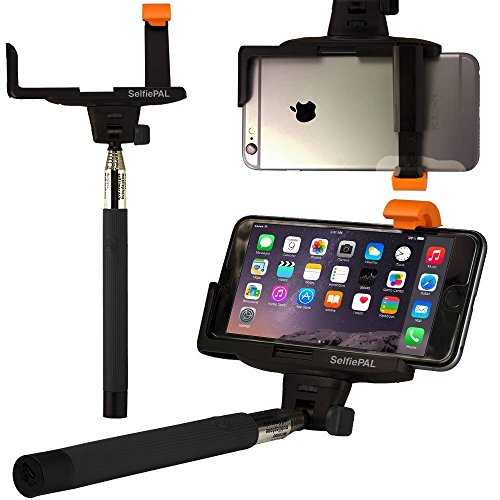 selfie stick with button wireless bluetooth remote camera shooting shutter monopod selfie. Black Bedroom Furniture Sets. Home Design Ideas