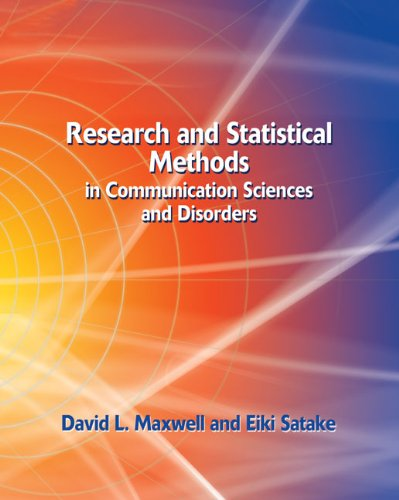 Research and Statistical Methods in Communication...