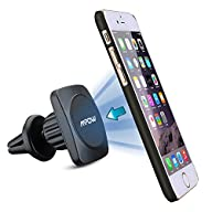 Mpow Grip Magic 360 Degree Universal Air Vent Car Mount Holder for iPhone 6S/6 Plus/5S/5C, Galaxy…
