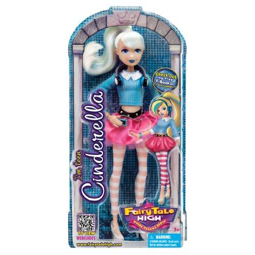 Fairy Tale High Cinderella Fashion Doll - 1
