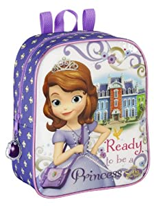 Amazon.com: MOCHILA GUARDERIA 22X10X27 PRINCESA SOFIA 11416 ADAP.CARRO
