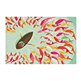 Chumbak Fish Boat Print Wall Art (CH WA102)