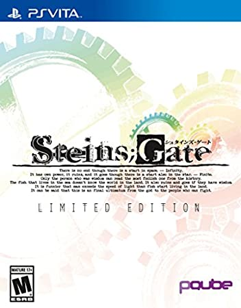 Steins;Gate Limited Edition (2016 Calendar Edition) - PlayStation Vita Limited Edition