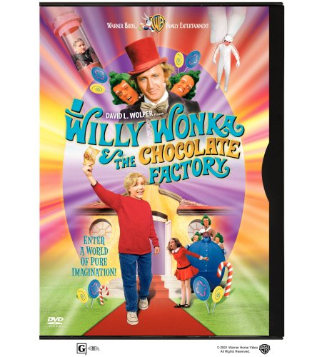 Cover art for  Willy Wonka and the Chocolate Factory (Full Screen Edition)