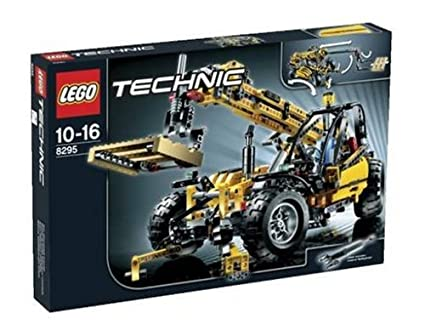 LEGO - 8295 - Jeu de construction - Technic - Le monte-charges télescopique