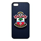 Grid Steel Plate Southampton FC Football Club Apple iPhone 5 5s Great Designer Back TPU Case Cover Bumper