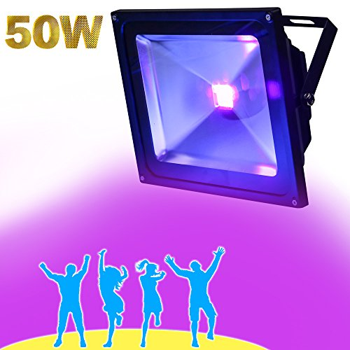 Yql outdoor blacklighthigh power 50w uv led flood light for dj yql outdoor blacklighthigh power 50w uv led flood light for dj disco clubnight clubs aloadofball Image collections