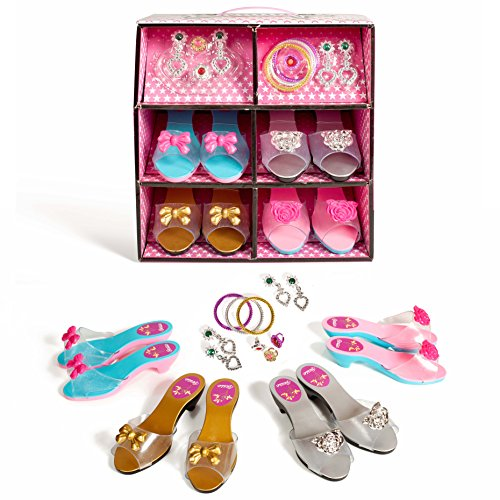 Super-star-12-piece-Dress-up-Shoes-and-Jewelry-set