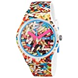 Swatch Sprinkled Unisex Watch SUOW705