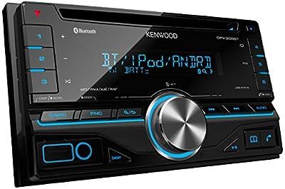 Kenwood DPX306BT Doppel-DIN-Receiver mit Apple iPod-Steuerung/Bluetooth schwarz von Kenwood bei Reifen Onlineshop