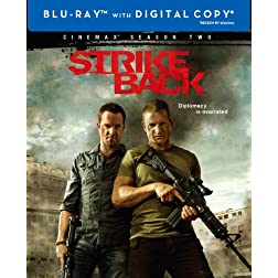 Strike Back: The Complete Second Season (Cinemax) (Blu-ray)