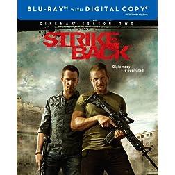 Strike Back: The Complete Second Season (Cinemax) (Blu-ray)