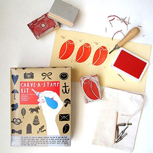 DIY Stamps - Stationary Crafts - Carve-A-Stamp Kit ...