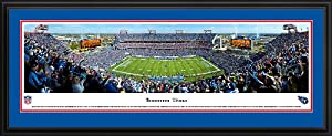 BLAKEWAY PANORAMAS TENNESSEE TITANS - LP FIELD - NFL PANORAMA POSTER PRINT DELUXE... by Blakeway Panoramas
