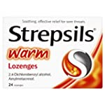 Strepsils Warm Lozenges Pack of 24