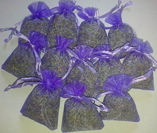 12-bags-of-dried-lavender-in-small-organza-bags-real-flower-wedding-confetti-home-fragrance-crafts-m