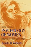 img - for By Juanita H. Williams Psychology of Women: Behavior in a Biosocial Context (3 Sub) [Paperback] book / textbook / text book