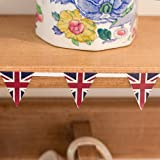 Mini Union Jack Bunting, Paper Flag Pennants, 95cmby Lights4fun - Decoration
