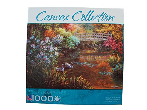 Canvas Collection 1000 Piece Jigsaw Puzzle: Treasury of Splendor