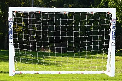 FORZA Soccer Goal 12x6 - The ultimate 2016 home soccer goal! Leave up in all weathers & takes 1000s of shots!