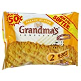 Grandma's Big Cookie, Peanut Butter, 2.50-Ounce Packages (Pack of 60)