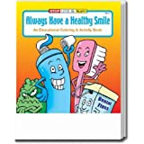 Always Have a Healthy Smile Coloring and Activity Book Trade Show Giveaway