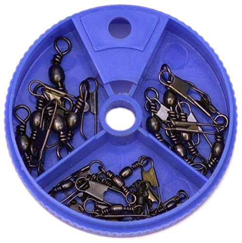 Eagle Claw Snap Swivel Assortment, 20 Piece