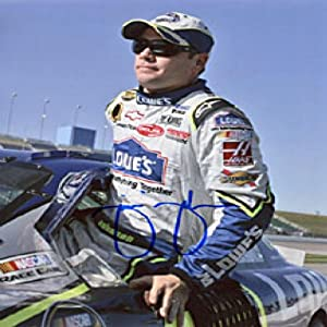 Jimmie Johnson Autographed Signed Profile Pose Photo by Hollywood Collectibles