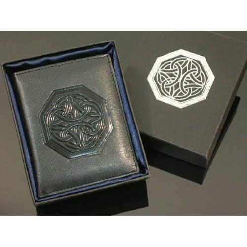 Celtic Irish Cross Knot Bifold Wallet BRAND NEW High quality