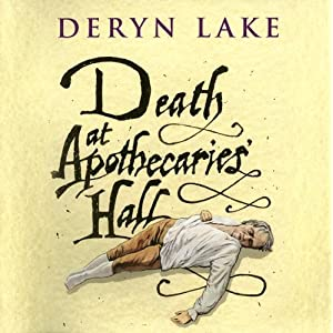 Death At Apothecaries' Hall  - Deryn Lake