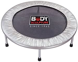 Body Sculpture Trampoline Aerobic Bouncer L 91,5 cm x l 91,5 cm x H 22,5 cm